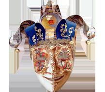 Venetian Jolly Masks