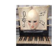 Wall Decor Venetian Masks