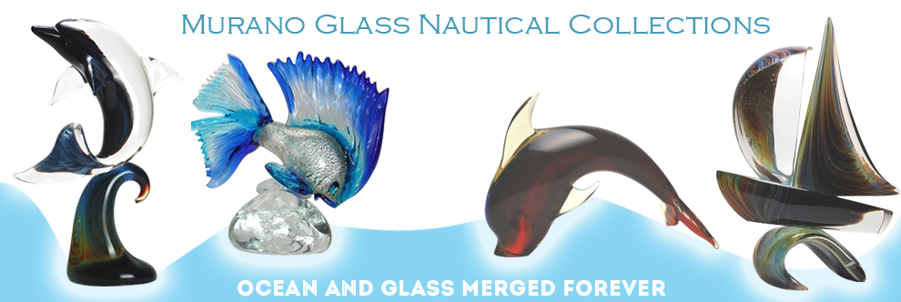 Nautical Murano glass