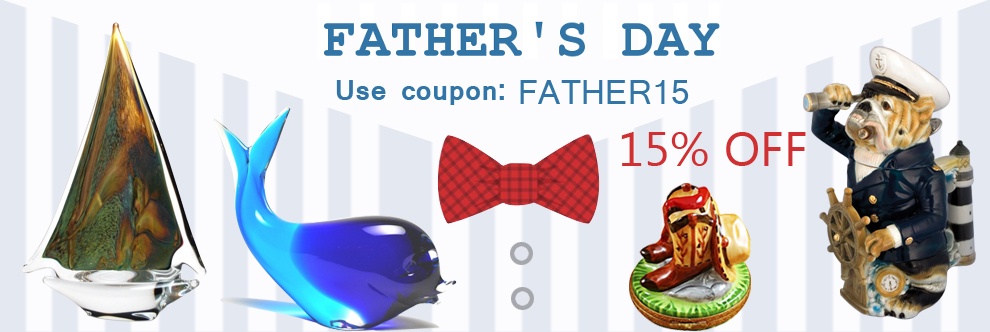 Murano Glass Father day gifts