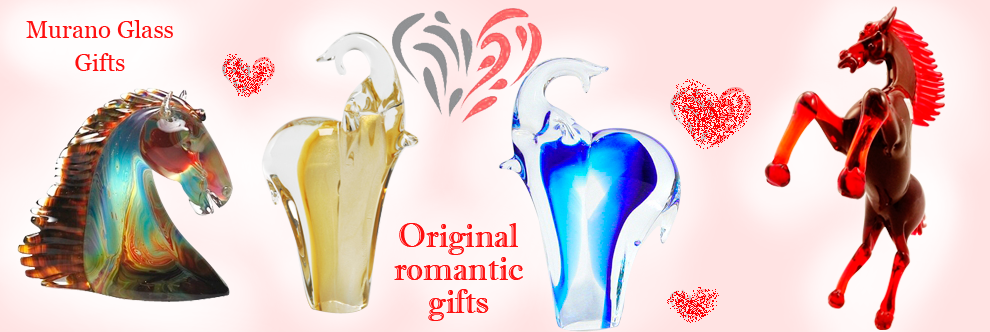 Murano Glass - Gifts ideas for Valentines Day