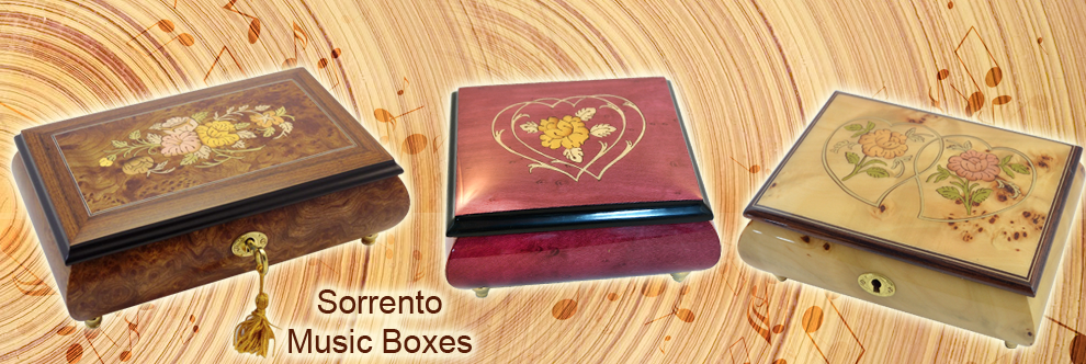 Music Boxes & Musical Jewelry Boxes