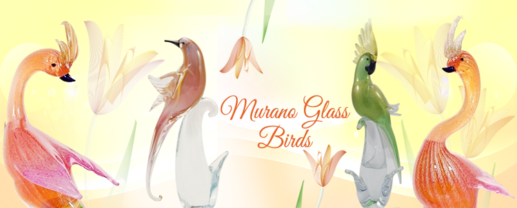 Murano Birds