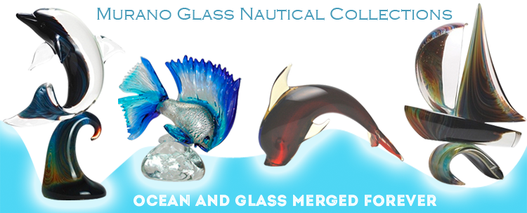 Murano Glass - Best Nautical style gifts for your Daddy