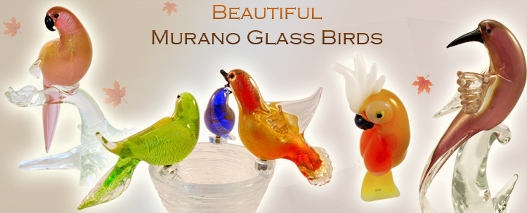 We offer single birds and pairs of birds which strike very romantic and coy postures. They look romantic enough to touch any lover's heart.
