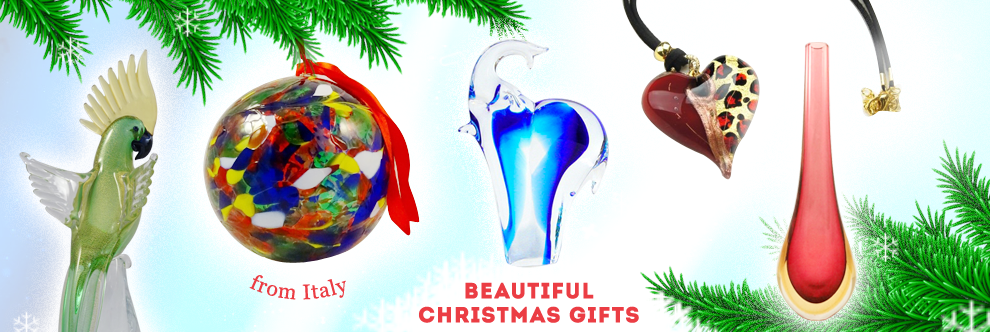 Murano Glass - Gifts ideas for Father's Day. Gifts for Him.
