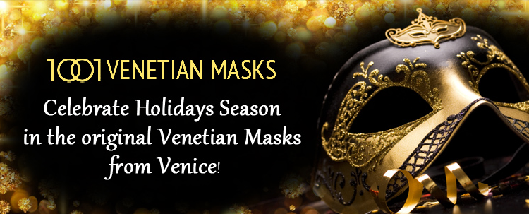 We're certain there is a Colombina mask that will call out to you and make you into someone else, even if just for an evening, – which may be just long enough!