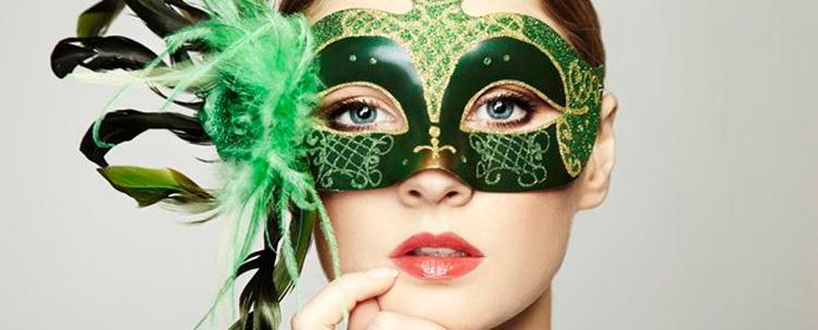 Celebrate Mardi Gras in original masquerade masks from Italy: Animals, Arlechino, Colombina, Colorosa, Full face masks, Galletto, Incas, Jolly, Wall Decor Venetion Masks.
