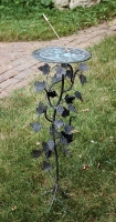 Grapevine Pedestal Base (Wrought Iron w/Antique Finish)